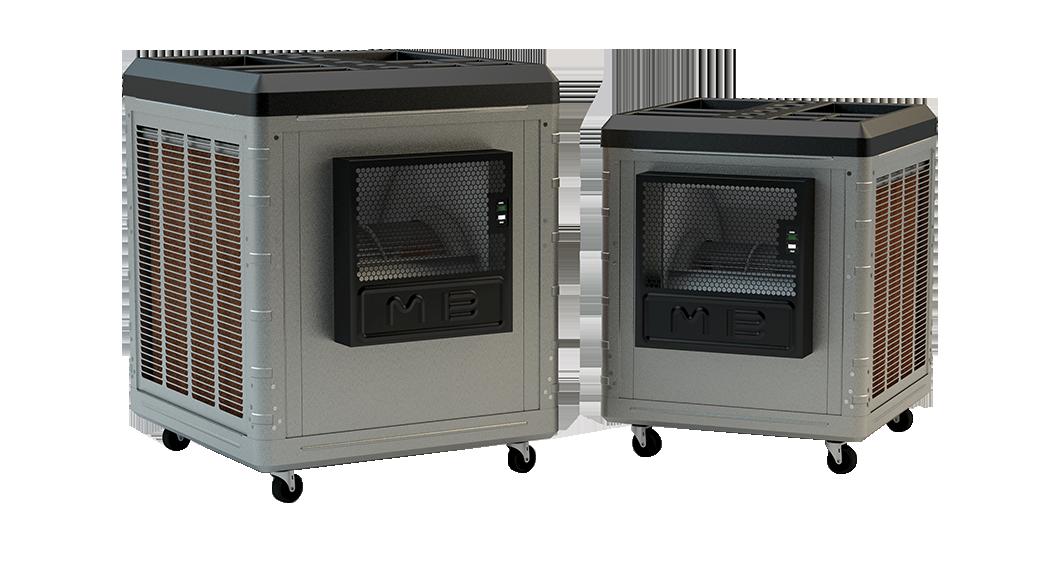 Cool Blast Portable Cooling Units : Evaporative cooler for your backyard master blaster