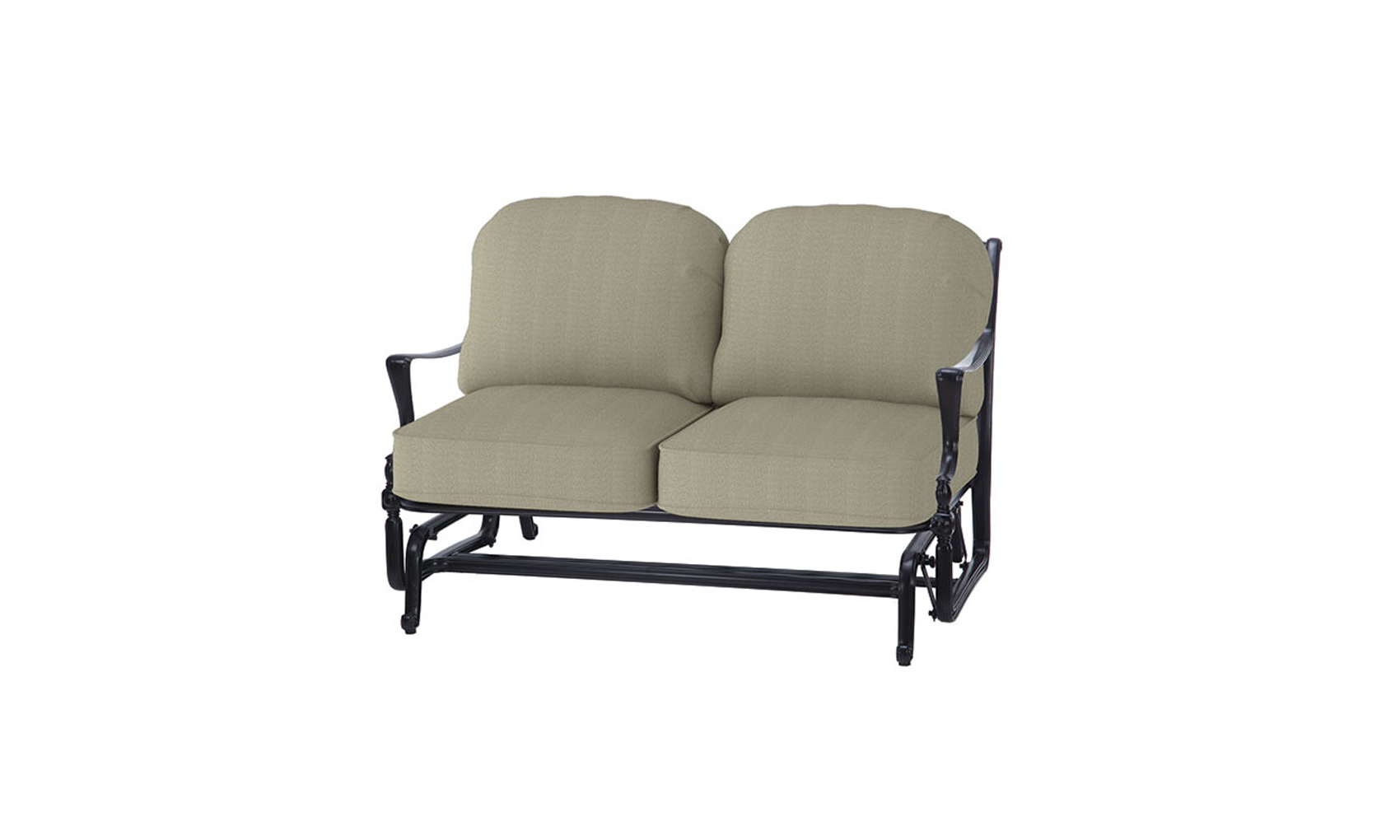 Bel Air Cushion Loveseat Glider Outdoor Living Concepts