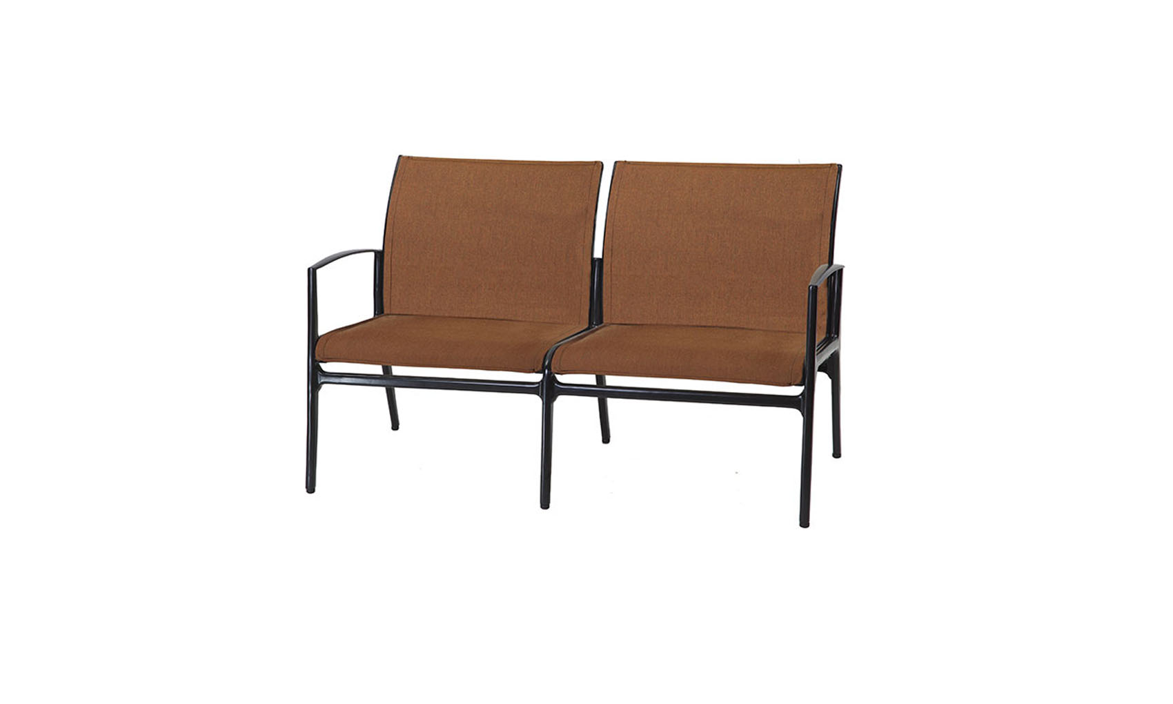 Phoenix Padded Sling Loveseat Outdoor Living Concepts