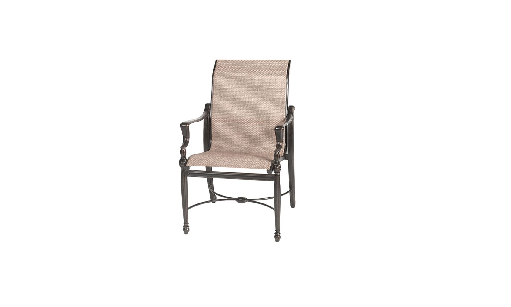 Bel Air Sling Standard Back Dining Chair Outdoor Living