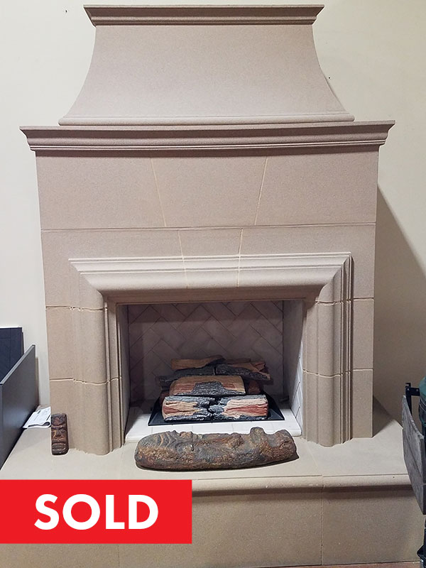 Cordova Fireplace - SOLD