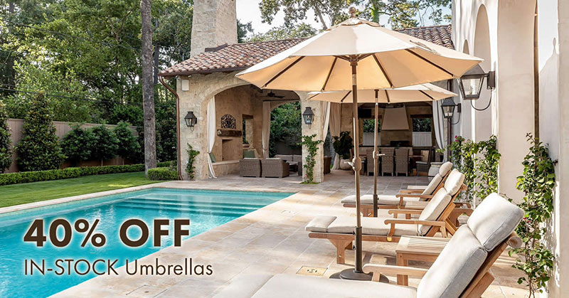 40% OFF IN-STOCK Umbrellas